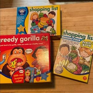 Orchard Toys Kids Games NWT